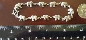 Jewelry - Sterling Silver Elephant Bracelet